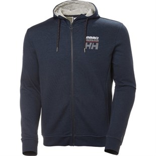 Helly Hansen Club Fz Hoodie Lacivert Erkek Fermuarlı Sweat Shirt