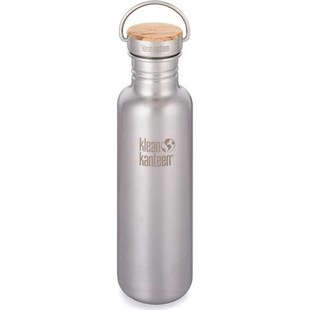 Klean Kanteen Reflect 800ml Bamboo Stainless Çelik Matara