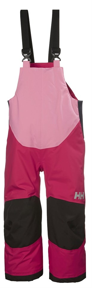 Helly Hansen K Rider 2 Ins Bib Saloped Çocuk Kar Tulumu Bright Rose